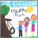 Country Fun button